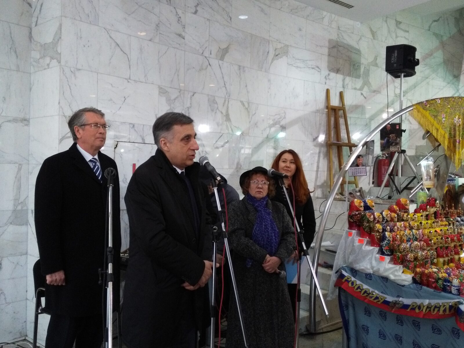 Чепурин отворио Фестивал руско-српског занатства у Београду (ФОТО)