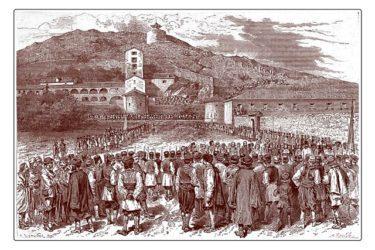 Писмо главара Црне Горе млетачком сенату из 1722. године