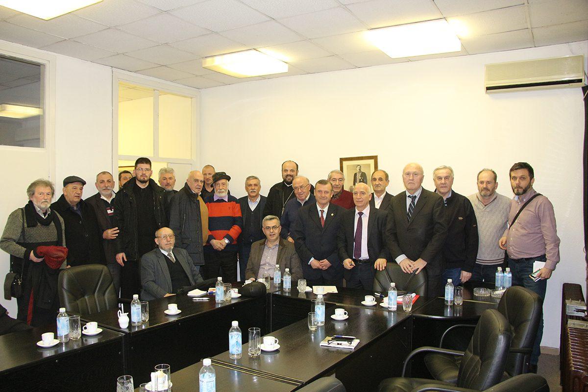 У Београду одржан састанак представника Епархије ЗХиП и Координације херцеговачких удружења у Србији (ФОТО)