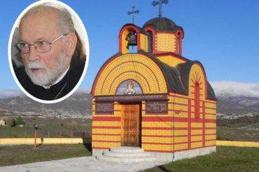 SVEŠTENIK RADE ZELENOVIĆ USNUO U GOSPODU: Odlazak u vječnost zadužbinara manastira Svetog Petra Zimonjića