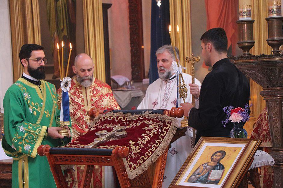 Владика Григорије на Крстопоклону недјељу служио у Дубровнику