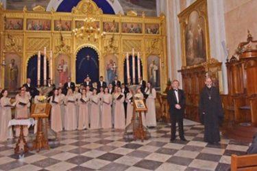 """Концерт хора """"Јединство"""" из Бања Луке у Дубровнику"""