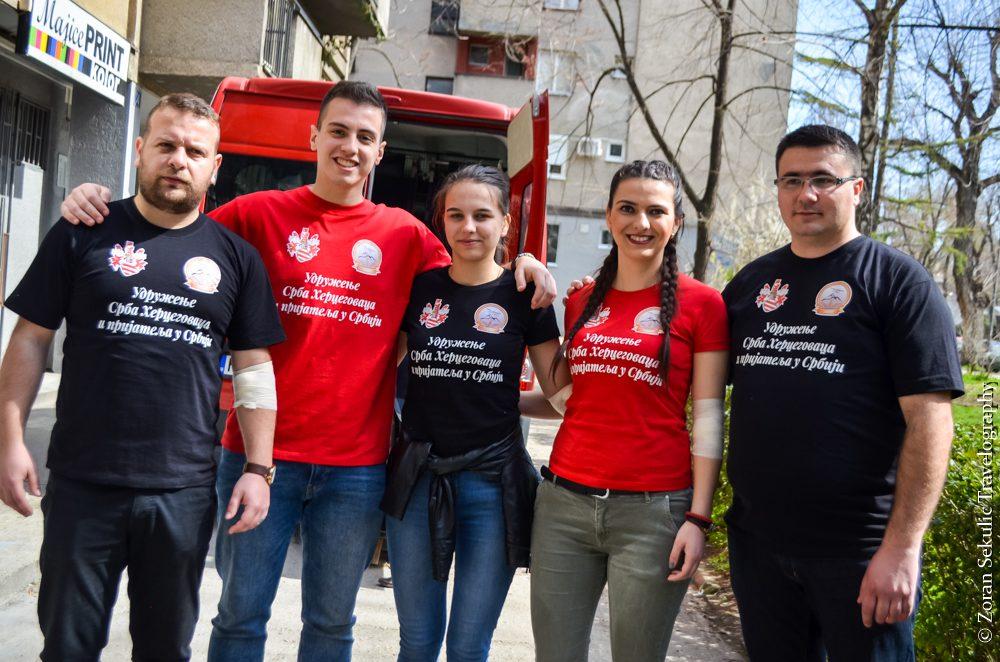MALI JUBILEJ VELIKIH HUMANISTA: Hercegovci u Novom Sadu peti put darovali krv