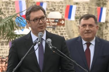 TREBINJCI U BEOGRADU: Hvala predsjedniku Vučiću na podršci i pomoći upućenoj Hercegovini