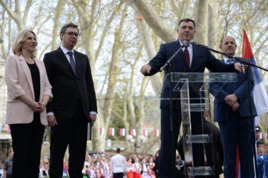 ВУЧИЋ ОБЕЋАО ТРЕБИЊЦИМА: Србија ће уложити најмање 10 милиона марака у Херцеговину и то није све….(ВИДЕО)