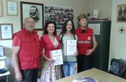 Награде на ликовном и литерарном конкурсу Црвеног крста сестрама Куреш