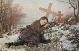 СВЕТОЗАР ЋОРОВИЋ: Сироче на мајчином гробу