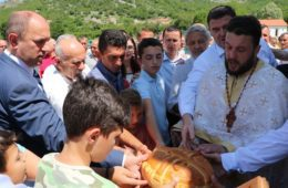 Прослава Светих Цара Константина и царице Јелене у селу Загора