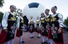 У Свјетлогорску проглашен сквер Српско-руског пријатељства