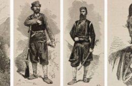 Херцеговачки устаници у француском листу из 1875.