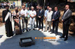 ТРЕБИЊСКА БРИГАДА ОПЕТ У СТРОЈУ: Камен темељац за нову спомен собу