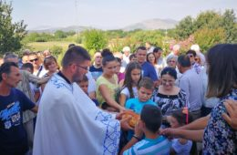 Мученички Клепци прославили Преображење Господње (ФОТО)