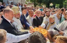 TREBINJE PROSLAVLJA PREOBRAŽENJE GOSPODNJE: Vladika Grigorije pozvao na ljubav i poštovanje