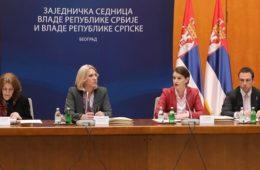 Заједничка сједница влада РС и Србије сутра у Требињу