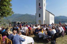 Слава Цркве и помен жртвама логора у Челебићима