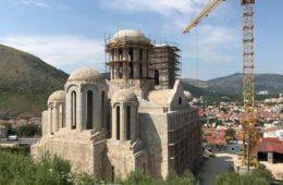 Završeno zidanje Sabornog hrama u Mostaru