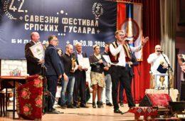 ЗАВРШЕН 42. САВЕЗНИ ФЕСТИВАЛ СРПСКИХ ГУСЛАРА: Билећанин Милош Вукоје нови гусларски шампион