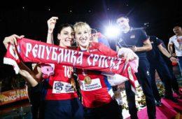 ЧЕСТИТКА ХЕРЦЕГОВАЦА ИЗ СРБИЈЕ: Одбојкашице показале снагу српске слоге