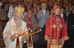 ПРОСЛАВЉЕНА ПЕТОГОДИШЊИЦА ОСВЕЋЕЊА САБОРНОГ ХРАМА У ПОДГОРИЦИ: Молимо се за јединство православља!