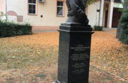 СРЕМСКИ КАРЛОВЦИ: Херцеговци положили вијенац испред споменика Саве Владиславића и генерала Петра Врангела