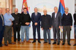 ПРИЈЕМ ЗА ОФИЦИРЕ НЕВЕСИЊСКЕ БРИГАДЕ У СКУПШТИНИ СРБИЈЕ: Хвала вам што сте чувајући Херцеговину сачували и матицу Србију