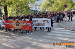 Требињски марш БЕСМРТНОГ ПУКА поручио: Фашизам није заувијек побијеђен (ФОТО)