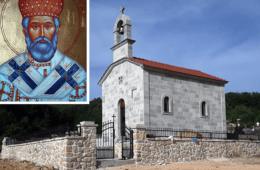 ВЛАДИКА ГРИГОРИЈЕ: Храм Светог свештеномученика митрополита црногорско-приморског Јоаникија