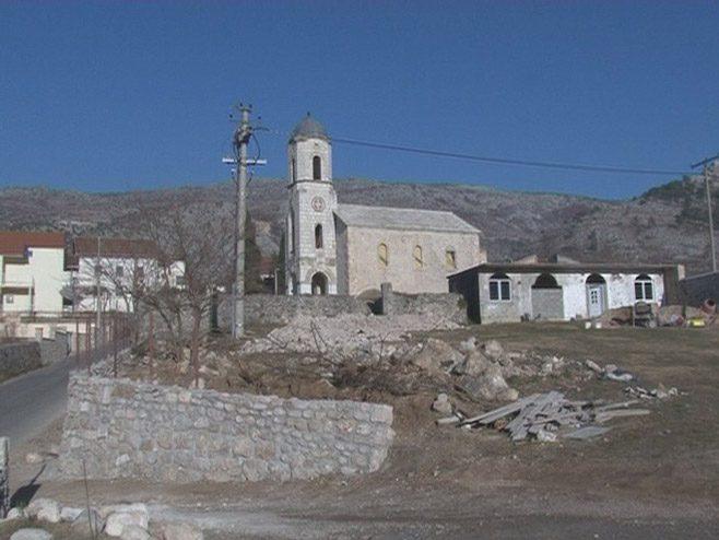 Crkva u Blagaju (Foto: RTRS)