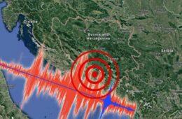 Земљотрес и у Херцеговини – oштећени објекти, паника међу грађанима