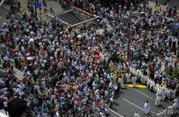 БЕОГРАД, 8. ЈАНУАР 2020. ГОДИНЕ: Сви на литију и молебан за помоћ браћи у Црној Гори