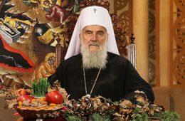БОЖИЋНА ПОСЛАНИЦА ПАТРИЈАРХА ИРИНЕЈА: Православну вјеру сачувати по сваку цијену