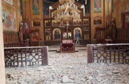 МИТРОПОЛИТ ПОРФИРИЈЕ НАКОН ЗЕМЉОТРЕСА У ЗАГРЕБУ: Храм оштећен, међу вјерницима нема страдалих! (ФОТО)