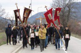 ЛИТИЈА У БЕРКОВИЋИМА: Дабрани дали подршку браћи у Црној Гори (ФОТО)
