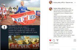 БОРЈАН ОДГОВОРИО ВУЛЕТИЋУ: Србима из Книна после геноцида НДХ остала је само Црвена Звезда...
