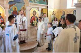 СПАСОВДАН У ДОЛИНИ НЕРЕТВЕ: Владика Димитрије служио у Бијелом Пољу код Мостара