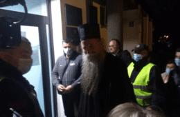 У ПРИТВОР ЗБОГ ЛИТИЈЕ: Епископу Јоаникију и никшићким свештеницима одређено задржавање до 72 сата