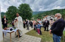 Слава храма Светог Василија Тврдошког и Острошког у Коњицу
