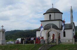 Прослављена крсна слава Храма Свих Светих на Зовом Долу