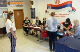 У ТРЕБИЊУ СЕ ПРВИ ПУТ ГЛАСА ЗА ИЗБОРЕ У СРБИЈИ