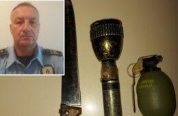Полицајац изненадио пијаног Љубињца, па му отео бомбу и нож
