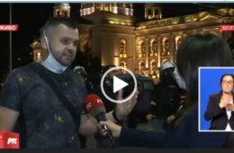 СНАЖНА ПОРУКА ГОРАНА ЛУЧИЋА НА РТС: Тргујемо Косовом док наши најбољи синови надничаре по бијелом свијету...