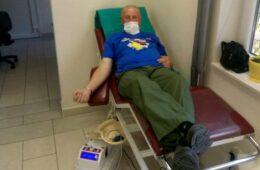 Демобилисани борци Требињске бригаде одазвали се акцији добровољног давања крви