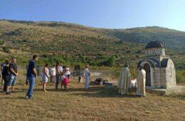Помен за 101 жртву усташког злочина у селу Чаваш