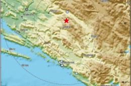 Земљотрес од 3,2 степена код Љубиња