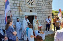 Расељени из села Изгори на родној груди прославили Илиндан
