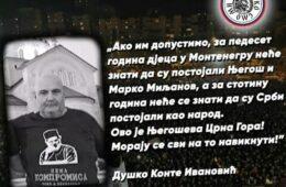 НАПУСТИО НАС ЈЕ ДУШКО CONTE ИВАНОВИЋ - Одлазак једног од посљедњих бокељских Срба римокатоличке вјере
