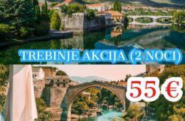 ЗЛАТНА ЈЕСЕН У ХЕРЦЕГОВИНИ: Не пропустите прилику да са Гораном Лучићем обиђете Требиње и Мостар (29.10 - 01.11.2020 године)