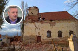 Линта позвао Владу Србије да хитно упути помоћ Србима и СПЦ на Банији за санирање посљедица земљотреса