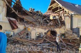 СЕДАМ МРТВИХ, НА ДЕСЕТИНЕ ПОВРИЈЕЂЕНИХ: Разоран земљотрес погодио Петрињу и Сисак