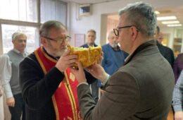 ДОГОДИНЕ НА РИБАРЦУ: Херцеговци у Новом Саду прославили Светог Василија Великог (ФОТО)